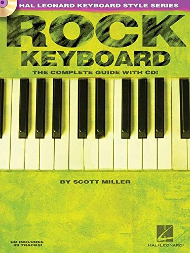 Rock keyboard clavier+CD (Hal Leonard Keyboard Style)