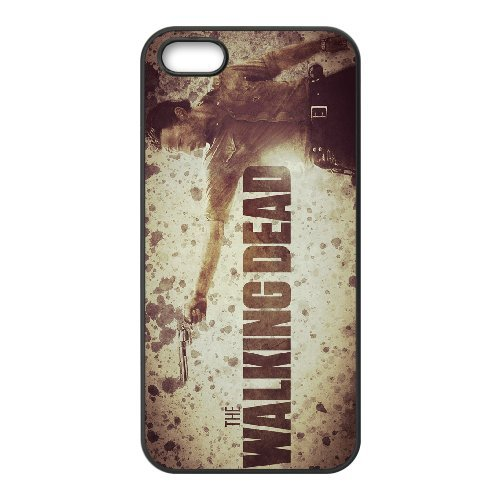 Personalised iPhone 5 5s SE Full Wrap Printed Plastic Phone Case The Walking Dead