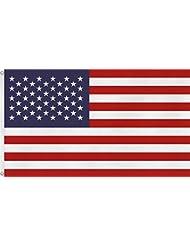 Deutschland Australien oder USA Fahne - Flagge mit Ösen 90 x 150
