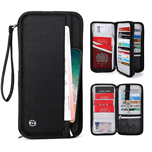 Family Passport Holder Travel Wa...