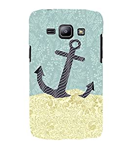 Anker Illustration 3D Hard Polycarbonate Designer Back Case Cover for Samsung Galaxy J1 :: Samsung Galaxy J1 J100F (2015)