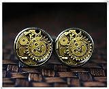 Boutons de manchette Steampunk, Steampunk Accessoires, geek Boutons de manchette