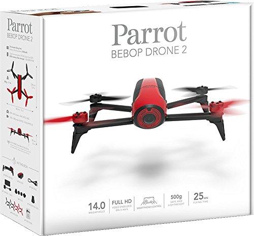 Parrot Bebop 2 Drohne rot - 6