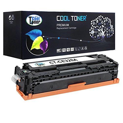 Cool Toner kompatibel toner fuer CE320A(128A) Tonerkartusche replacement fuer HP LaserJet Pro...