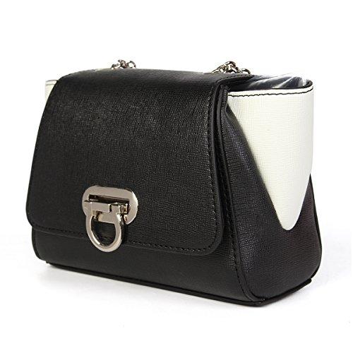 Kadell Frauen Mini Kreuz Körper Schulter Taschen Handtasche Geldbörse Vintage Satchel Bag Graffiti Grau Schwarz