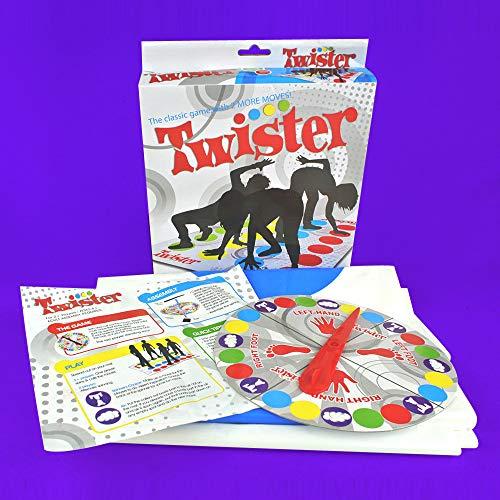 YH-jm Twister Game Boys und Girls Interactive Game Toys,A