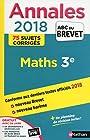 Annales ABC du Brevet 2018 - Maths