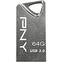 PNY Micro Chiavetta USB 3.0 T3 Attache, 64 GB, (Usb 2.0 Attache)
