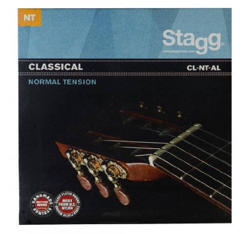 Stagg Angel Lopez - Cuerdas para guitarra clásica (tensión normal, fabricadas a mano)