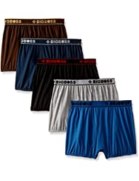 Dollar Bigboss Men's Solid Trunk (Pack of 5)(MDTR-07_Multicolour_X-Large)