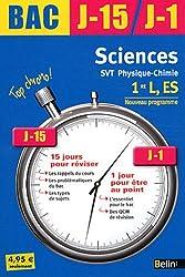 J-15 J-1 Sciences Première L, ES 2011