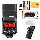 Godox tt350s Mini Flash TTL HSS 1/8000s 2,4G senza fili per Sony mirrorless fotocamere fotocamera A7RII A7R A58A99ilce6000l A77II RX10ecc