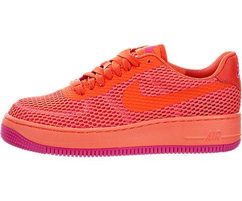 Nike Damen W Af1 Low Upstep BR Turnschuhe, Orange (Total Crimson/Total Crimson), 38 EU (Schuhe Frauen Nike-af1)