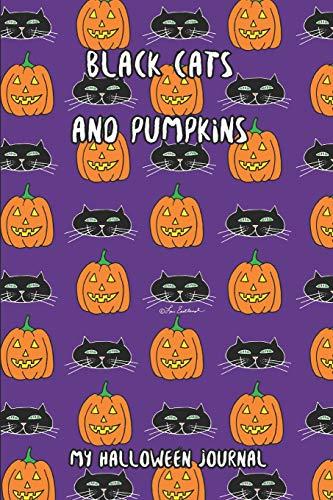 Black Cats And Pumpkins: My Halloween Journal (Halloween Treats Candy Apples)