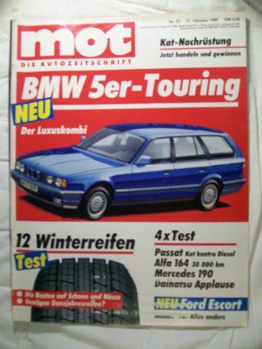 MOT - die Autozeitschrift, Heft 23/1989