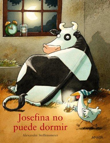 Portada del libro Josefina no puede dormir (Primeros Lectores (1-5 Años) - Josefina)