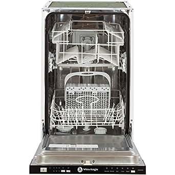 White Knight DW0945IA 9 Place Slimline Fully Integrated Dishwasher - White