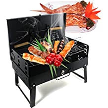 Vinteky® BBQ Barbacoa portátil, barbacoa de viaje, de pícnic, camping, plegable