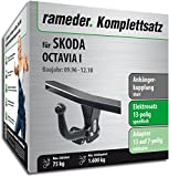 Anhängerkupplung Starr Rameder komplett-Kit + 13POL Elektrische für Skoda Octavia I (112930â 01904â 1)