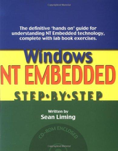 Windows Nt Embedded: Step-By-Step por Sean Liming