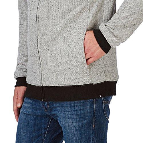 Hurley Smokestacks Zip Fleece, Color: 07g, Size: Xl 07G