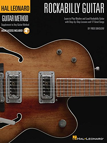 Hal Léonard rockabilly guitar method guitare+CD (Hal Leonard Guitar Method)