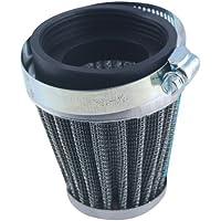 Jambo 60mm motore aspirazione in gomma Moto Air Filter Kit aspirazione a induzione per Custom Cafe Racer Bobber BMW Triumph Buell Norton - Prestazioni Del Motore Magazzino