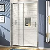 1200 mm Sliding Glass Cubicle Door Modern Bathroom Alcove Shower Enclosure
