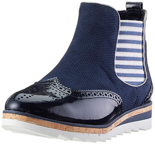 großer Verkauf 0208b e02b1 MARCO TOZZI 2-2-25403-32, Bottes Chelsea Femme, Bleu (Navy Comb 890), 40 EU