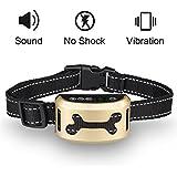 Hunde trainingshalsband für kleine und mittelgroße Hunde mit Ton- &Vibration Mothca Kontrolle von übermäßigem Bellen Tierfreundliches Erziehungshalsband Ferntrainer für Hundegebell Anti-Bell Halsbänder Vibrations Halsband - Sicher Keine Schmerzen