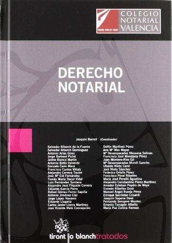 Derecho notarial por Salvador . . . [et al. ] Alborch de la Fuente