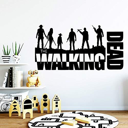 zhuziji Walking Dead Wandaufkleber Hauptdekorationen Kinderzimmer Zubehör Wanddekoration M86x166cm (Dead Pool-stick Walking)