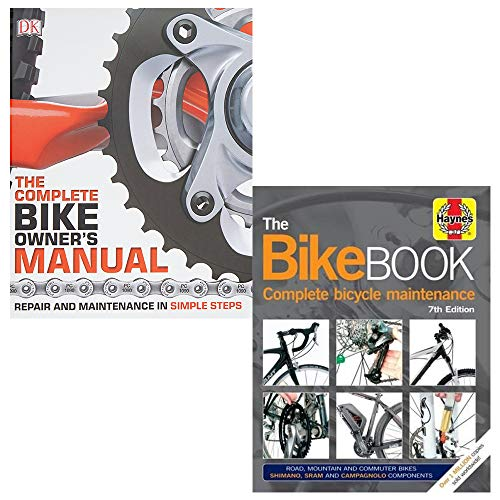 Price comparison product image Complete Bike Owners Manual,  Bike Book 2 Books Collection Set