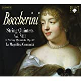 Boccerini: String Quintets Vol. VIII opus 39 with double bass