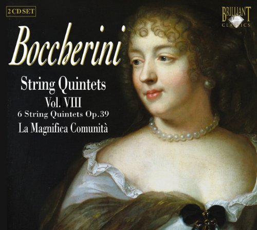 Preisvergleich Produktbild Boccerini: String Quintets Vol. VIII opus 39 with double bass