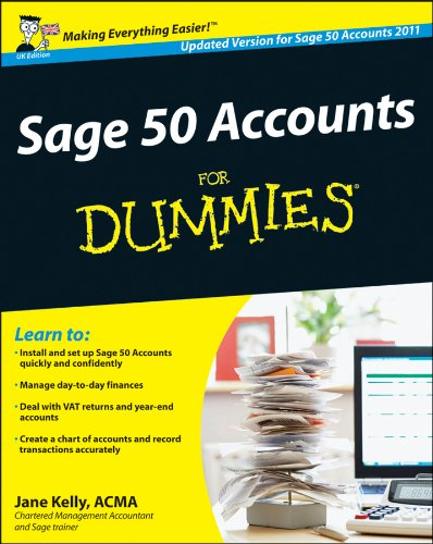 Sage 50 Accounts For Dummies®, UK Edition