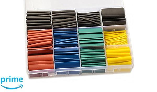 Schrumpfschlauch Schrumpfschläuche Modellbau Elektrik Elektronik Kabel schwarz