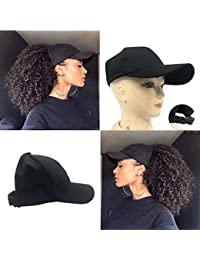 Ponytail Hat Baseball Hat for Women for Curly be9dcd27fd62