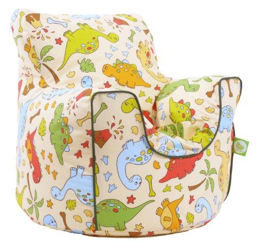 Cotton Dinosaur Bean Bag Arm Chair with Beans
