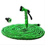 MLAURENT HOMEYKK Hochdruckreiniger erweiterbar Gartenschlauch Garten Wasser Schlauch Auto Rohr, Bewässerung, CONNECTOR (grün, 125FT)