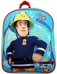 Sam Le Pompier - Fireman Sam - Enfants Sac à Dos - Sam en Action 24 x 31 x 9 cm