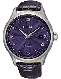 Seiko Reloj Analogico para Hombre de Automático con Correa en Cuero SRPC21K1