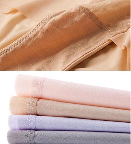 Frauen Thin Section Der Frischen Low Waist Winkel Shorts Breathable Nahtlose Unterwäsche Super Bequeme (2 Packungen) A3