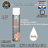 Abel Auto Graisse Professionnelle au Bisulfure de Molybdène MoS2