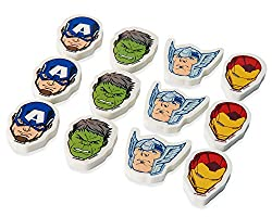 American Greetings Boys Avengers Epic Erasers (12 Piece)