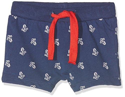 BIMBUS Baby-Jungen Shorts 171IBBM002, Blau (Blu 11 282), 62 cm