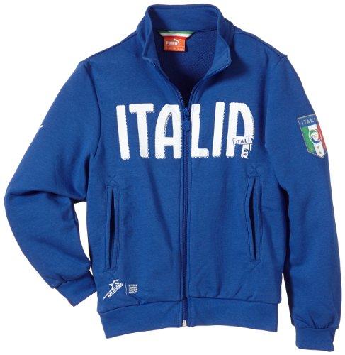 PUMA Kinder Italien Jacke FIGC Italia Track Jacket, Team Power Blue, 140, 745190 01 (Kinder Jacke Performance High)