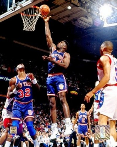 The Poster Corp Charles Oakley - 1991 Aktion Photo Print (20,32 x 25,40 cm)
