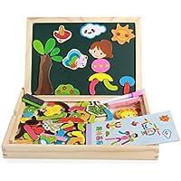 Wansan Puzzles De Madera Para Juegos Educativos Juguete De