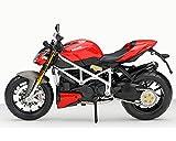 ASENER Ducati 1100S Streetfighter Motorrad Maßstab 1:12
